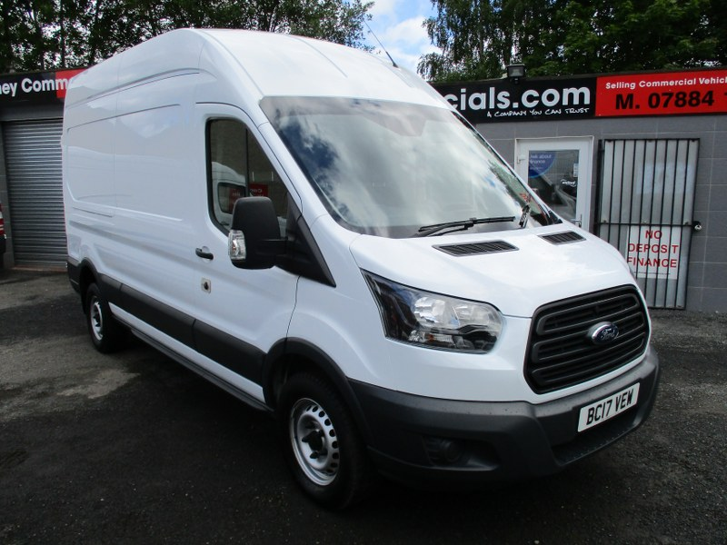 Ford Transit 350 Base 2.0TDCi L3H3 Long Wheelbase High Roof Panel Van 130PS