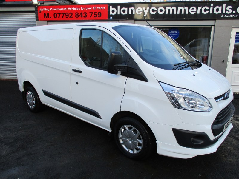 Ford Transit Custom Trend 2.2TDCi 270 L1H1 Short Wheelbase Low Roof Panel Van 125PS