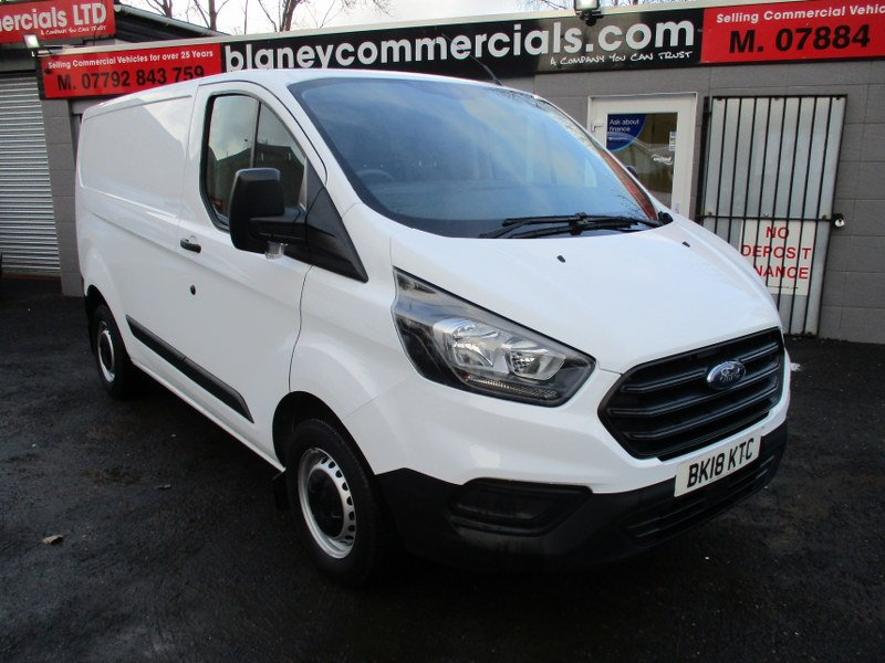 Ford Transit Custom Base 300 2.0TDCi L1H1 Short Wheelbase Panel Van 105PS