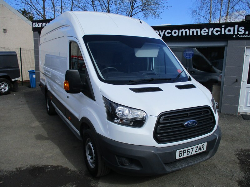 Ford Transit 350 Base 2.0TDCi L4H3 Jumbo High Roof Panel Van 130PS