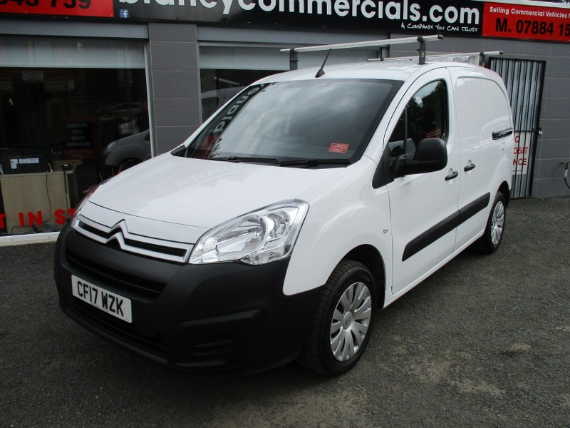 Citroen Berlingo 625 1.6BlueHDi Enterprise L1 Short Wheelbase Panel Van 75PS