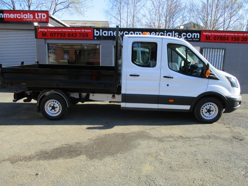 Ford Transit 350 Base 2.0TDCi L3H2 Long Wheelbase Double Cab Tipper 130PS