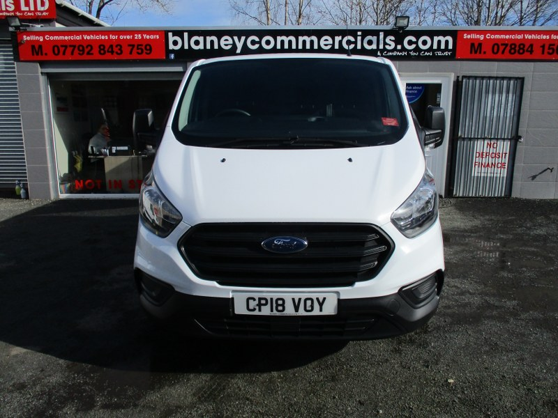 Ford Transit Custom Base 2.0TDCi 300 L2H1 Long Wheelbase Low Roof Panel Van 105PS