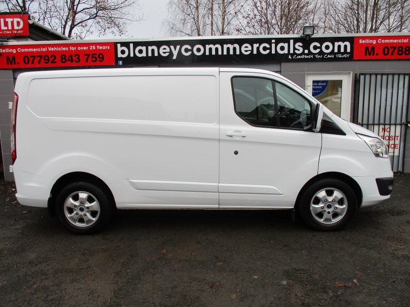Ford Transit Custom Limited 290 2.0TDCi L1H1 Short Wheelbase Panel Van 130PS