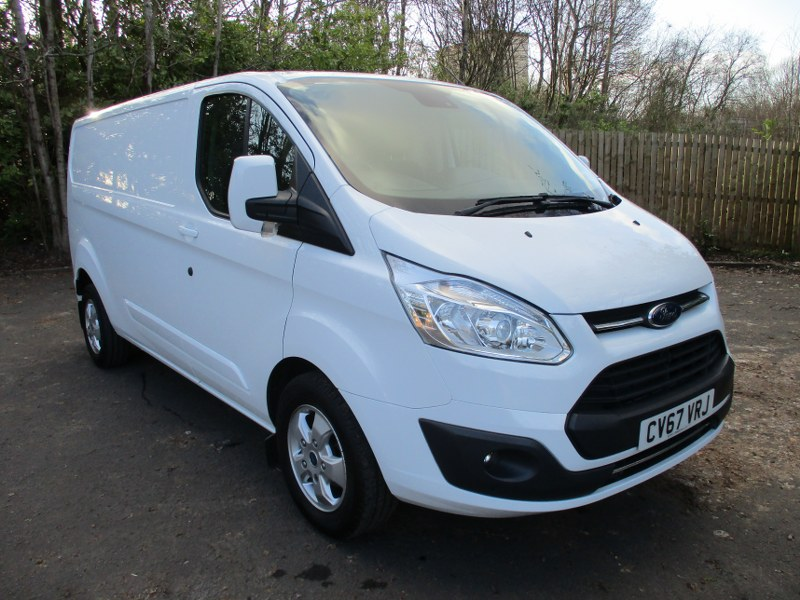 Ford Transit Custom Limited 290 2.0TDCi L2H1 Long Wheelbase Low Roof Panel Van 130PS