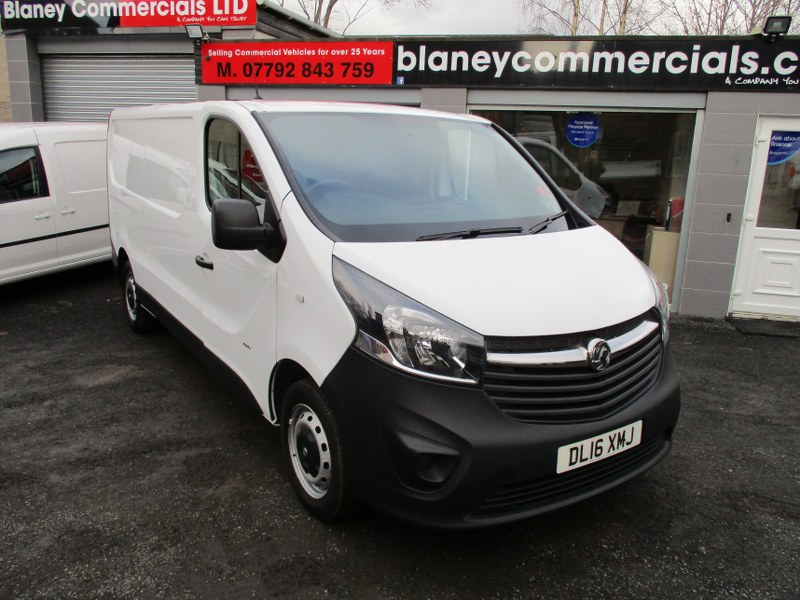 Vauxhall Vivaro 2900 1.6CDTi L2H1 Long Wheelbase Panel Van 115PS