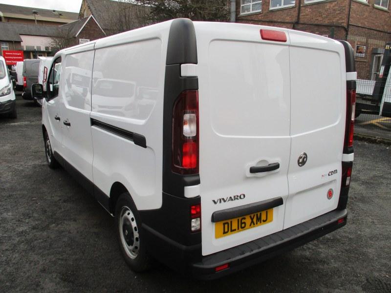 Vauxhall Vivaro 2900 1.6CDTi L2H1 Long Wheelbase Panel Van 115PS