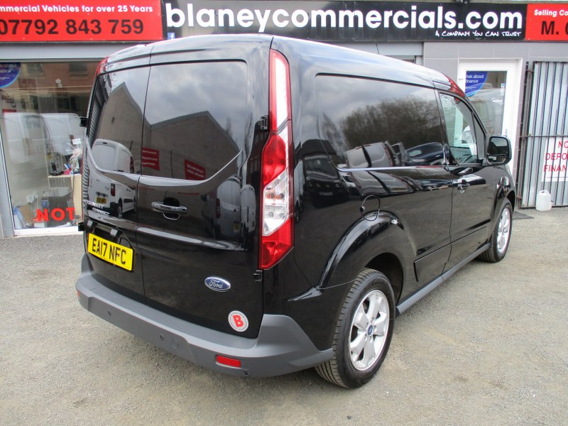 Ford Transit Connect 1.5TDCi 200 L1H1 LIMITED Short Wheelbase Panel Van 120PS