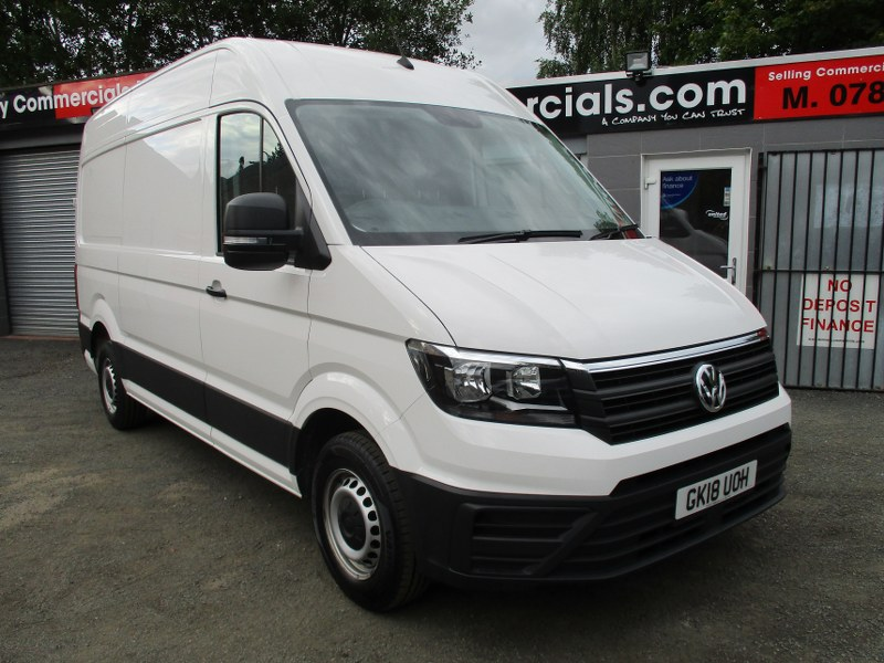 Volkswagen Crafter CR35 2.0TDi Startline Medium Wheelbase High Roof Panel Van 140PS