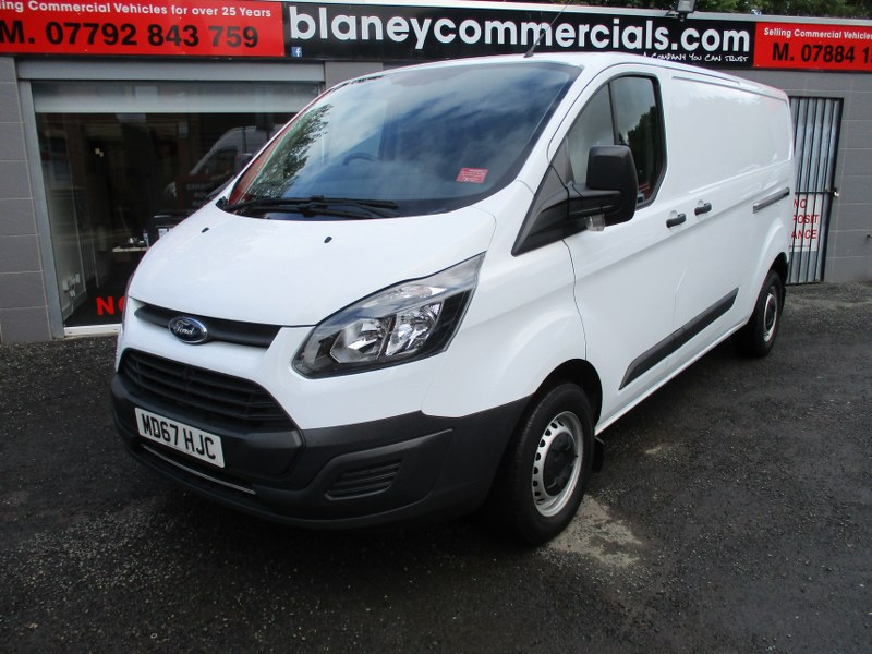 Ford Transit Custom Base 2.0TDCi 290 L2H1 Long Wheelbase Low Roof Panel Van 130PS