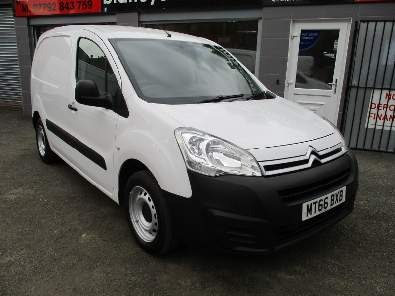 Citroen Berlingo 625 1.6BlueHDi LX L1 Short Wheelbase Panel Van 75PS