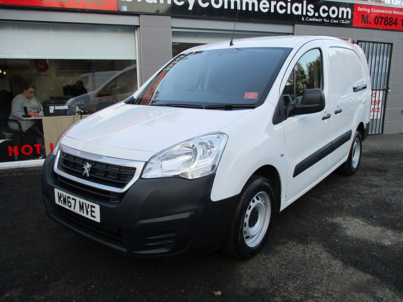 Peugeot Partner S 716 1.6BlueHDi L2 Long Wheelbase Panel Van 100PS