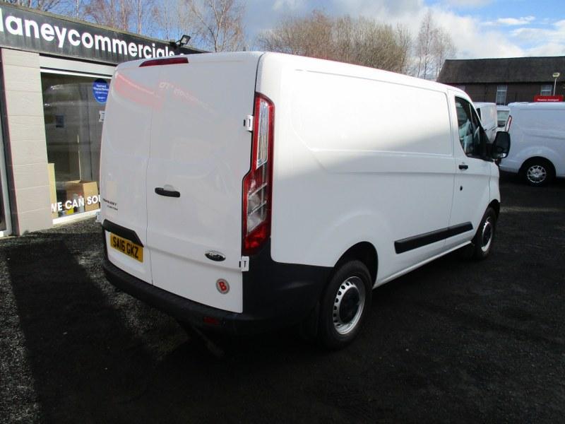 Ford Transit Custom 2.2TDCi 270 L1H1 Short Wheelbase Low Roof Panel Van 100PS