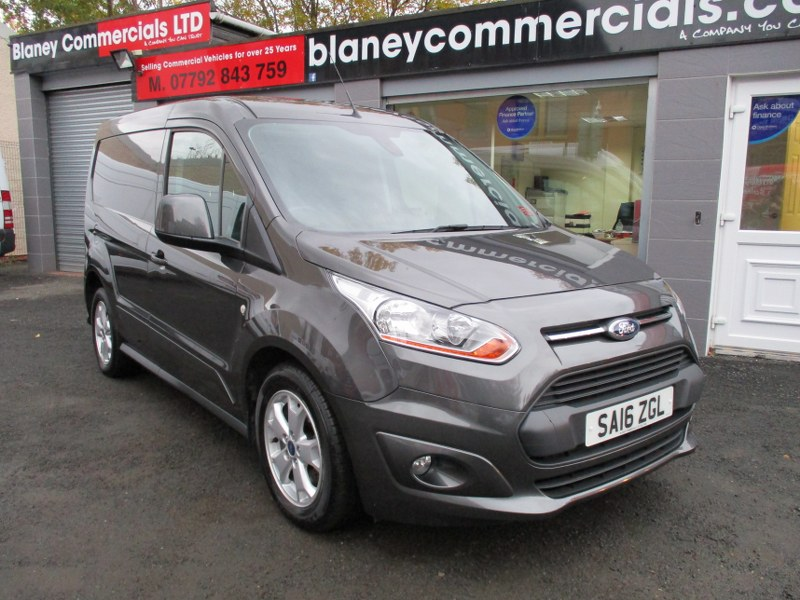 Ford Transit Connect 1.6TDCi 200 L1H1 LIMITED Short Wheelbase Panel Van 115PS