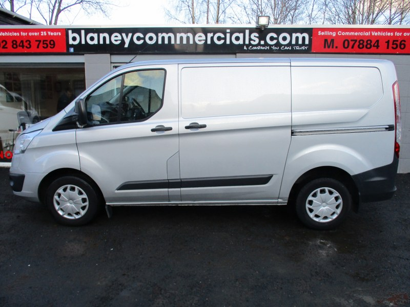 Ford Transit Custom Trend 290 2.0TDCi L1H1 Short Wheelbase Panel Van 130PS