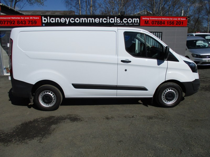 Ford Transit Custom 2.2TDCi 270 L1H1 Short Wheelbase Low Roof Panel Van 100PS