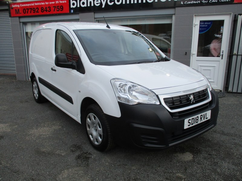 Peugeot Partner Professional 850 1.6 BlueHDi L1 Short Wheelbase Panel Van 100PS