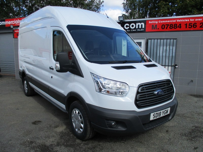 Ford Transit 350 Trend 2.0TDCi L3H3 Long Wheelbase High Roof Panel Van 130PS