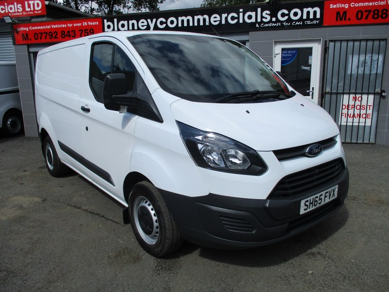Ford Transit Custom 270 2.2TDCi L1H1 Short Wheelbase Low Roof Panel Van 100PS