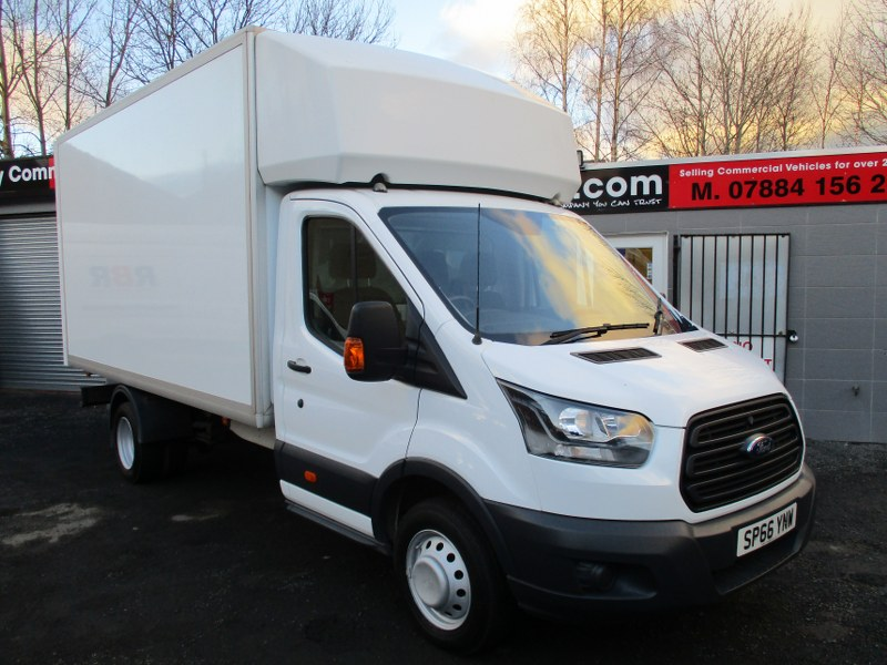 Ford Transit 350 Base 2.0TDCi L4 Extended Frame Luton Van RWD 130PS