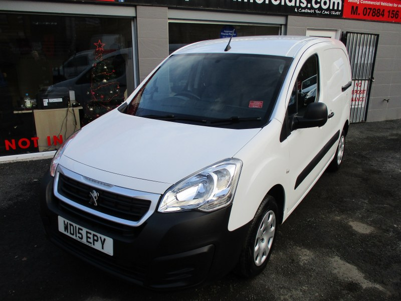 Peugeot Partner Professional 850 1.6 HDi L1 Short Wheelbase Panel Van 90PS