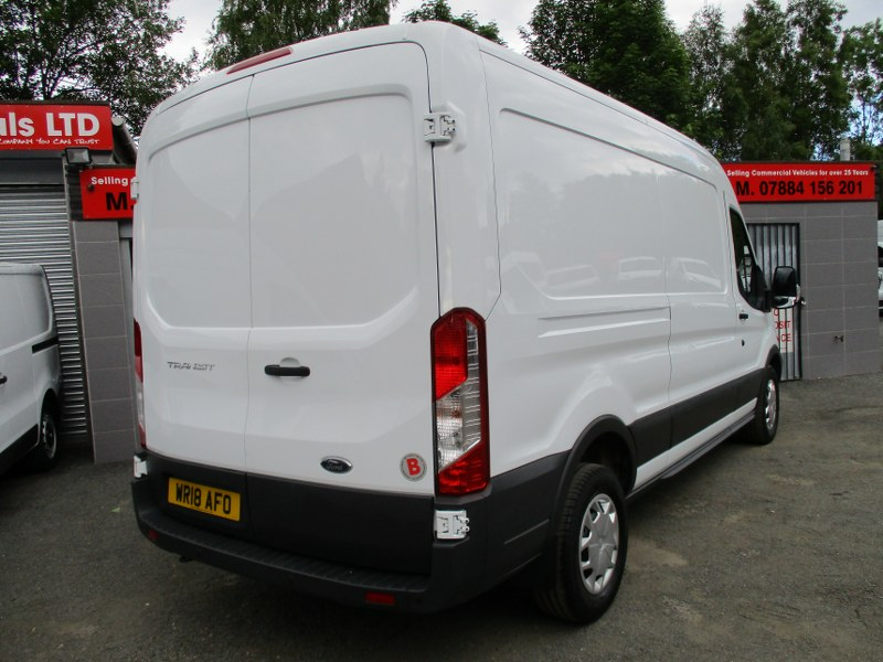 Ford Transit 350 Trend 2.0TDCi L3H2 Long Wheelbase Medium Roof Panel Van 130PS