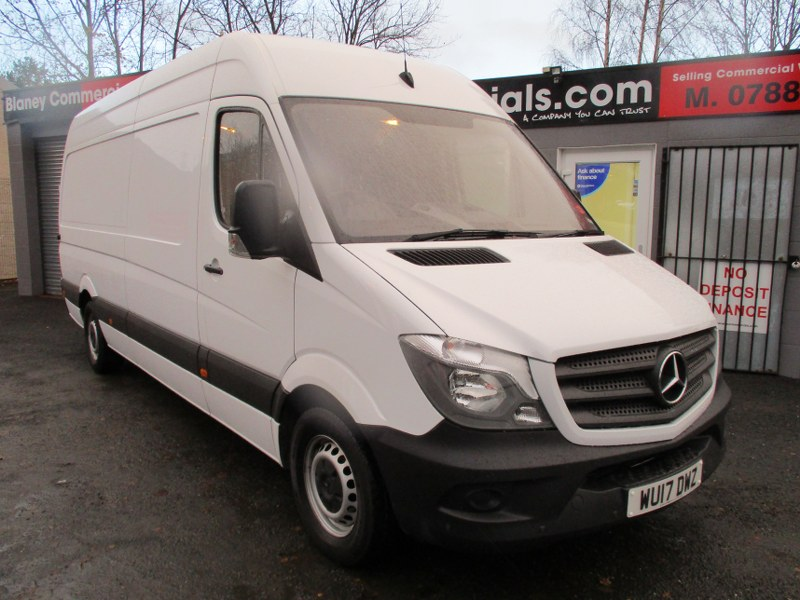 Mercedes-Benz Sprinter 314 2.2CDi Long Wheelbase High Roof Panel Van 140PS