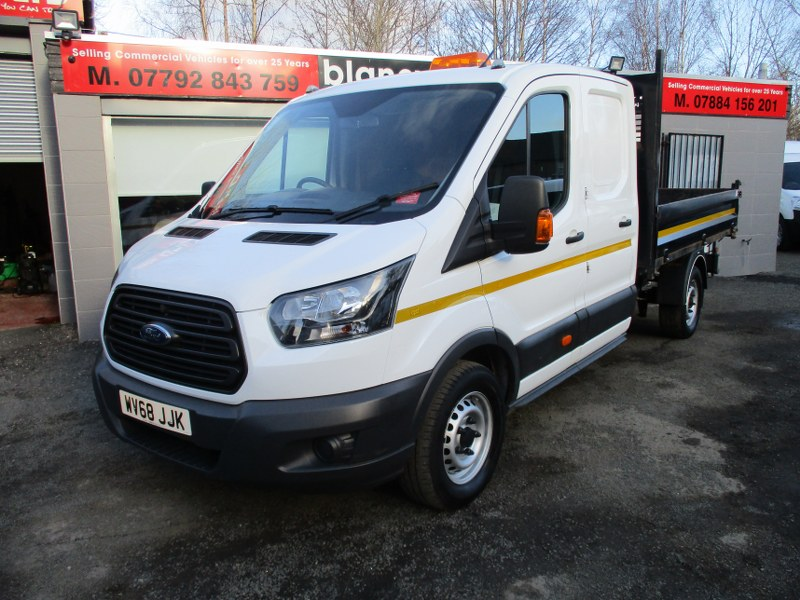 Ford Transit 350 Base 2.0TDCi L3H2 Long Wheelbase Double Cab Utility Tipper 130PS